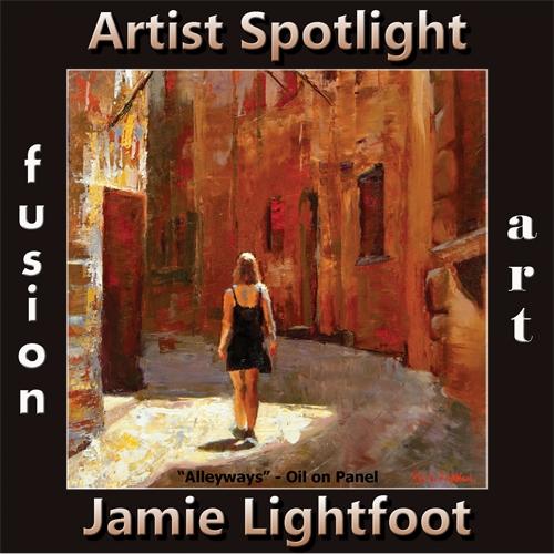 Jamie Lightfoot is Fusion Art's Traditional Artist Spotlight Winner for November 2019 image
