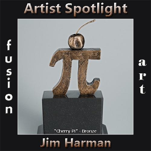 Jim Harman is Fusion Art's 3-Dimensional Artist Spotlight Winner for November 2019 image
