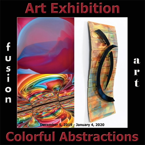 Fusion Art Announces the Winners of the 5th Annual Colorful Abstractions Art Exhibition image