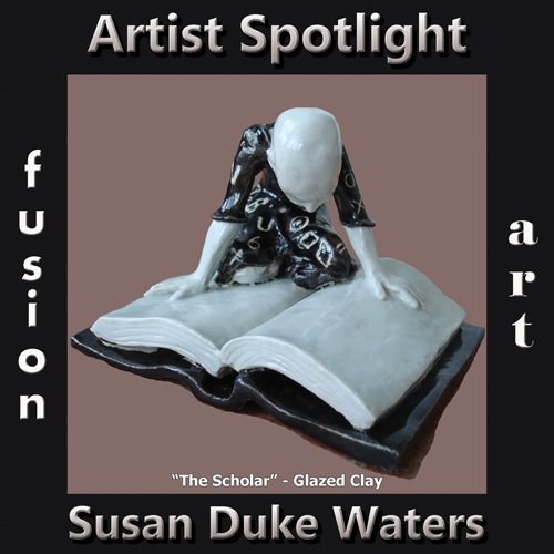 Susan Duke Waters is Fusion Art's 3-Dimensional Artist Spotlight Winner for December 2019 image