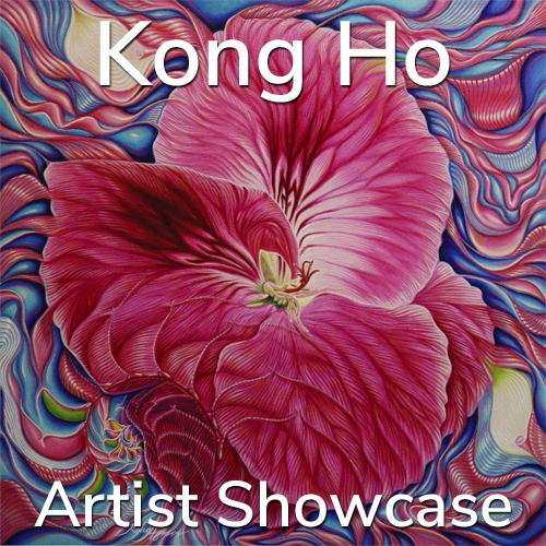 Kong Ho is Awarded an Artist Showcase Feature image