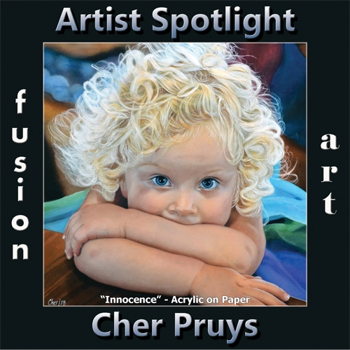 Cher Pruys is Fusion Art's Traditional Artist Spotlight Winner for January 2020 image