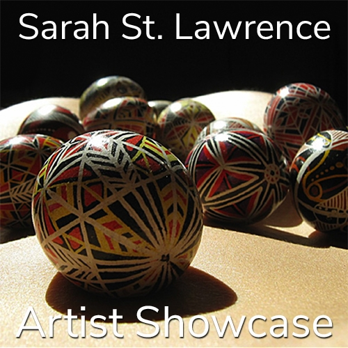 Sarah St. Lawrence is Awarded an Artist Showcase Feature image