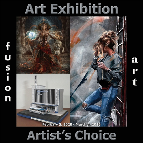 Fusion Art Announces the Winners of the 5th Annual Artist's Choice Art Exhibition image