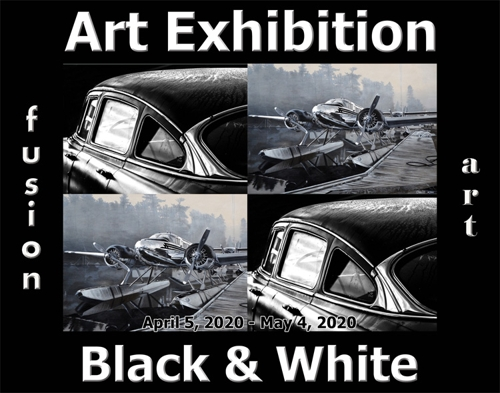Fusion Art Announces the Winners of the 4th Annual Black & White Art Exhibition image