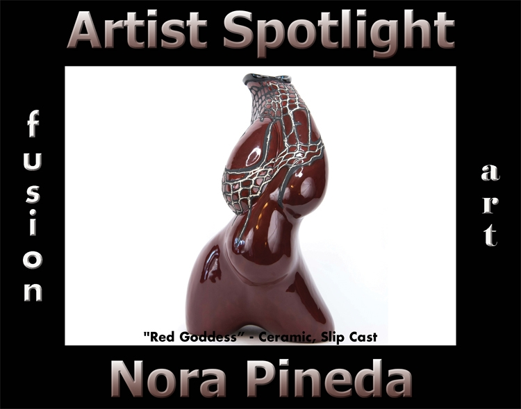 Nora Pineda Wins Fusion Art's Artist Spotlight Solo Art Exhibition for April 2020 image