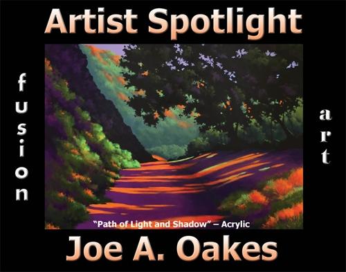 Joe A. Oakes Wins Fusion Art's Artist Spotlight Solo Art Exhibition for May 2020 image