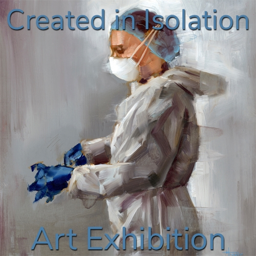 """Created in Isolation"" 2020 Art Exhibition Winning Artists Announced image"