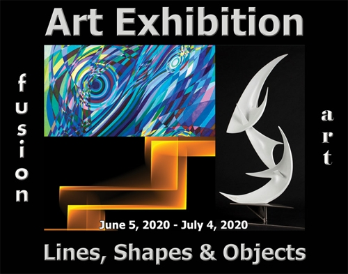 Fusion Art Announces the Winners of the 2nd Annual Lines, Shapes & Objects Art Exhibition image