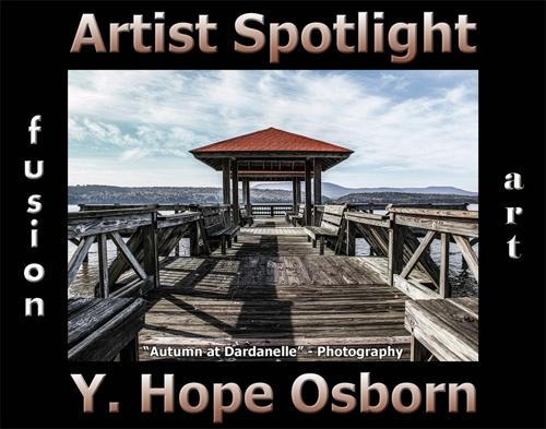 Y. Hope Osborn is Fusion Art's Photography & Digital Artist Spotlight Winner for June 2020 image