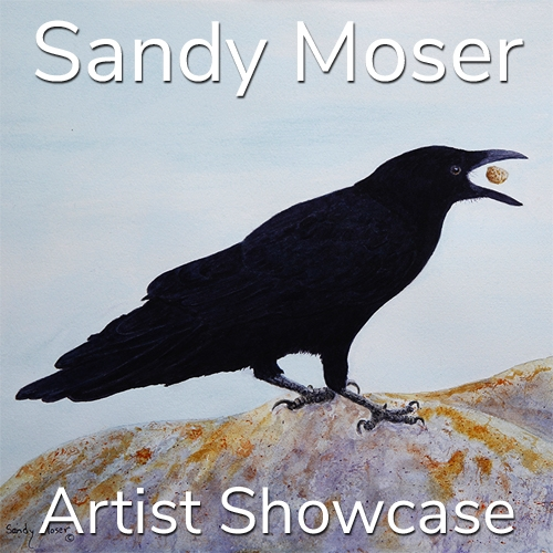 Sandy Moser is Awarded an Artist Showcase Feature image