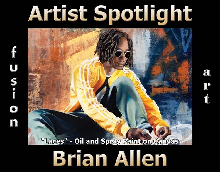 Brian Allen Wins Fusion Art's Artist Spotlight Solo Art Exhibition for July 2020 image