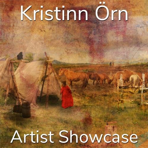 Kristinn Örn is Awarded an Artist Showcase Feature image