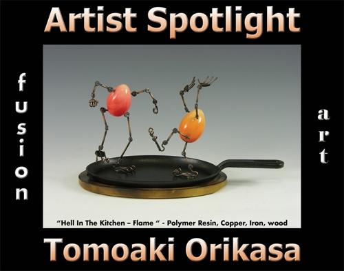 Tomoaki Orikasa is Fusion Art's 3-Dimensional Artist Spotlight Winner for August 2020 image