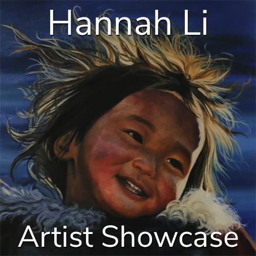 Hannah Li is Awarded an Artist Showcase Feature image