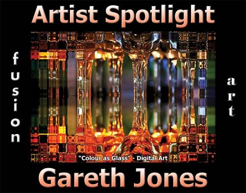 Gareth Jones Wins Fusion Art's Artist Spotlight  Solo Art Exhibition for September 2020 image