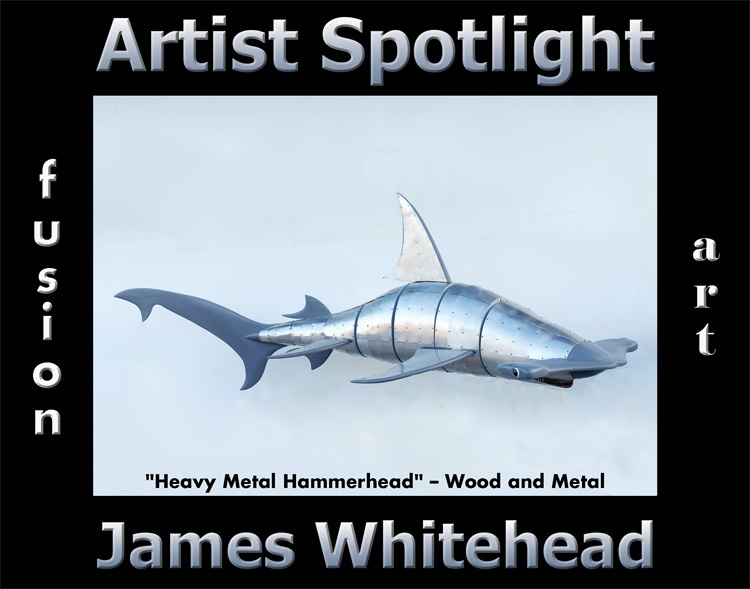 James Whitehead Wins Fusion Art's Artist Spotlight Solo Art Exhibition for September 2020 image
