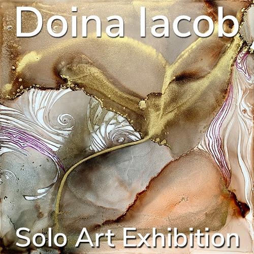 Doina Iacob is Awarded a Solo Art Exhibition image