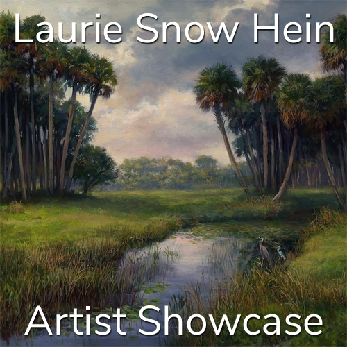 Laurie Snow Hein is Awarded an Artist Showcase Feature image