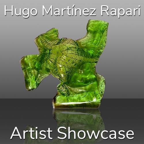 Hugo Martínez Rapari is Awarded an Artist Showcase Feature image