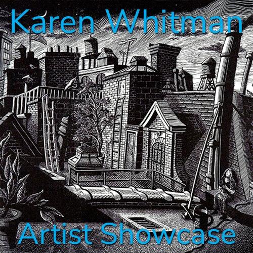 Karen Whitman is Awarded an Artist Showcase Feature image