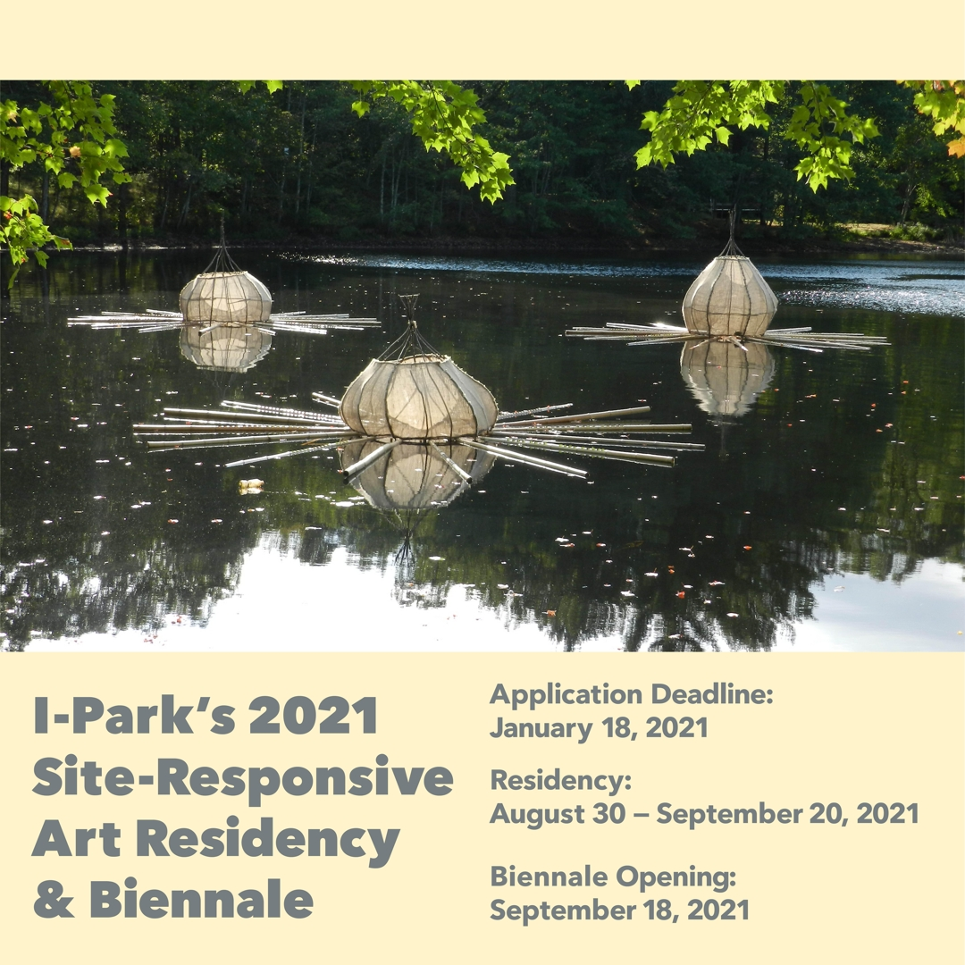 I-Park Site-Responsive Art Residency Accepting Applications until January 18th. image