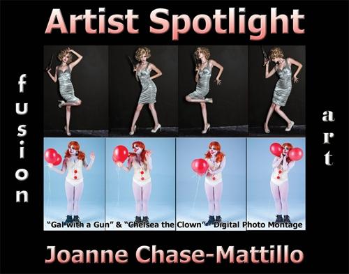 Joanne Chase-Mattillo Wins Fusion Art's Artist Spotlight  Solo Art Exhibition for January 2021 image