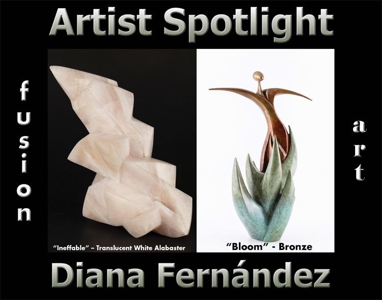 Diana Fernández Wins Fusion Art's Artist Spotlight Solo Art Exhibition for January 2021 image
