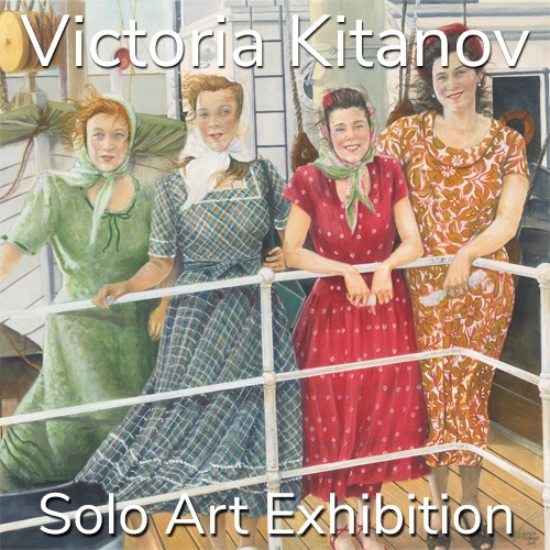 Victoria Kitanov is Awarded a Solo Art Exhibition image