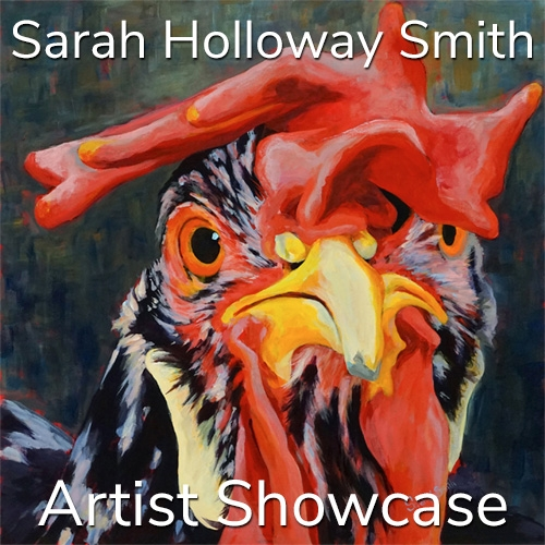 Sarah Holloway Smith is Awarded an Artist Showcase Feature image
