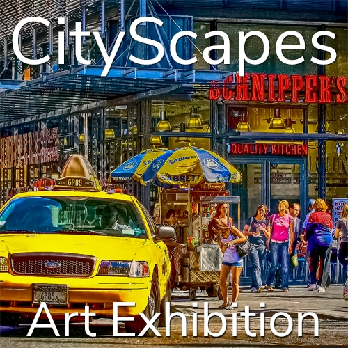 "11th Annual ""CityScapes"" 2021 Art Exhibition Winning Artists Announced image"