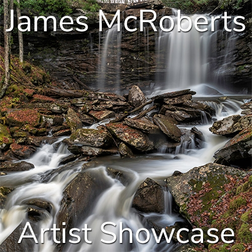 James McRoberts is Awarded an Artist Showcase Feature image