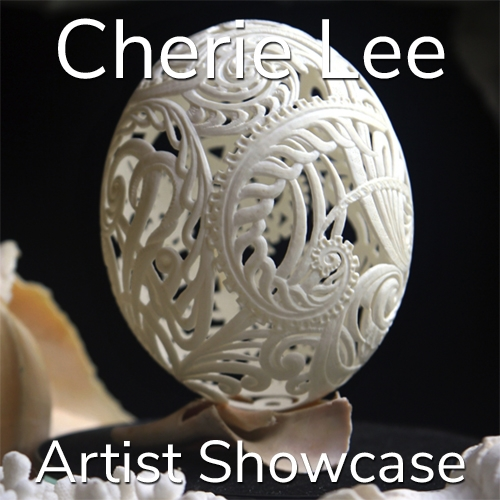 Cherie Lee is Awarded an Artist Showcase Feature image