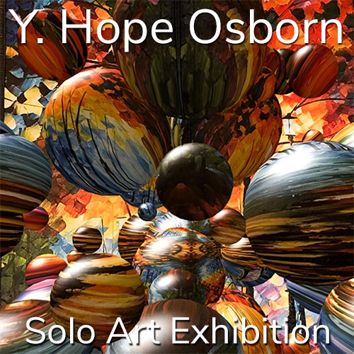 Y. Hope Osborn is Awarded a Solo Art Exhibition image