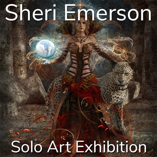 Sheri Emerson is Awarded a Solo Art Exhibition image