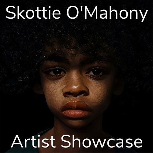 Skottie O'Mahony is Awarded an Artist Showcase Feature image