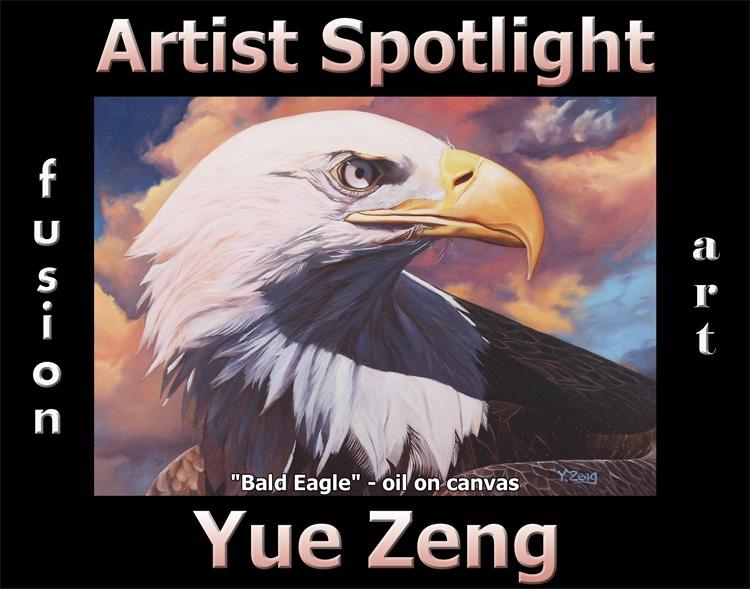 Yue Zeng Wins Fusion Art's Artist Spotlight Solo Art Exhibition for June 2021 image