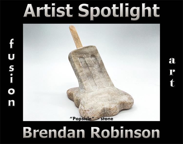 Brendan Robinson Wins Fusion Art's Artist Spotlight Solo Art Exhibition for June 2021 image