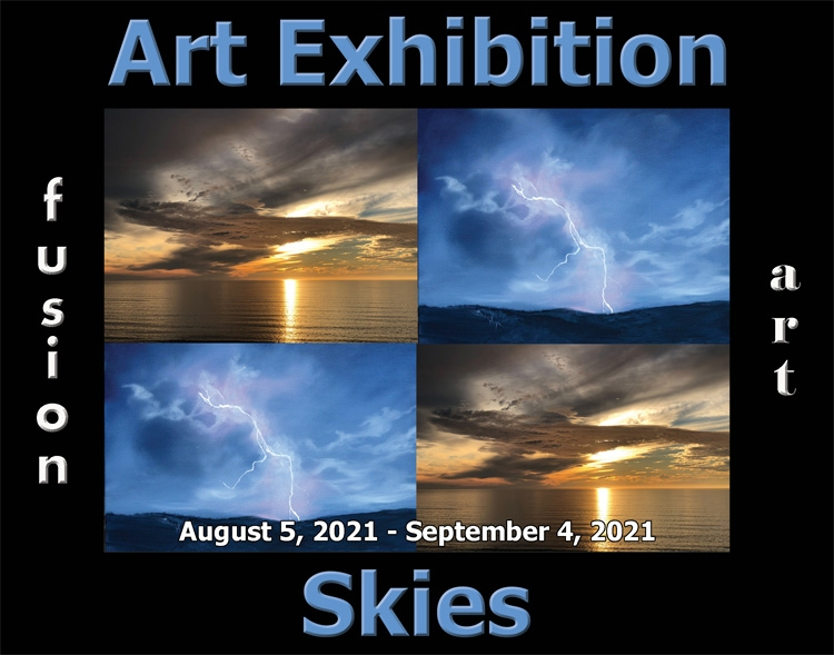 Fusion Art Announces the Winners of the 5th Annual Skies Art Exhibition image