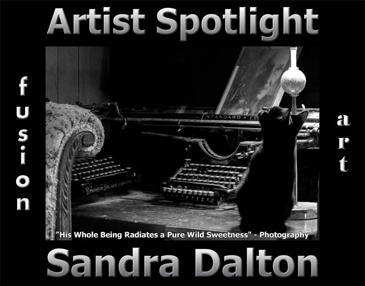 Sandra Dalton Wins Fusion Art's Artist Spotlight  Solo Art Exhibition for August 2021 image