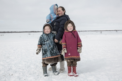 Nomads from the series 'People of Tundra' image