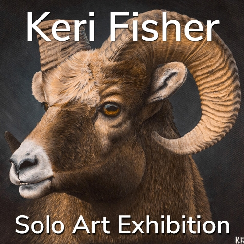 Keri Fisher is Awarded a Solo Art Exhibition image