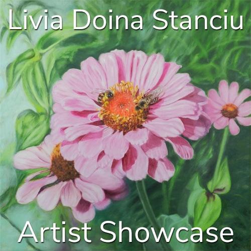 Livia Doina Stanciu is Awarded an Artist Showcase Feature image