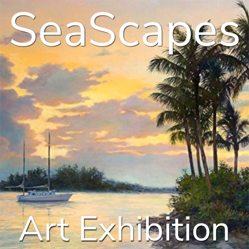 """11th Annual """"SeaScapes"""" 2021 Art Exhibition Winning Artists Announced image"""