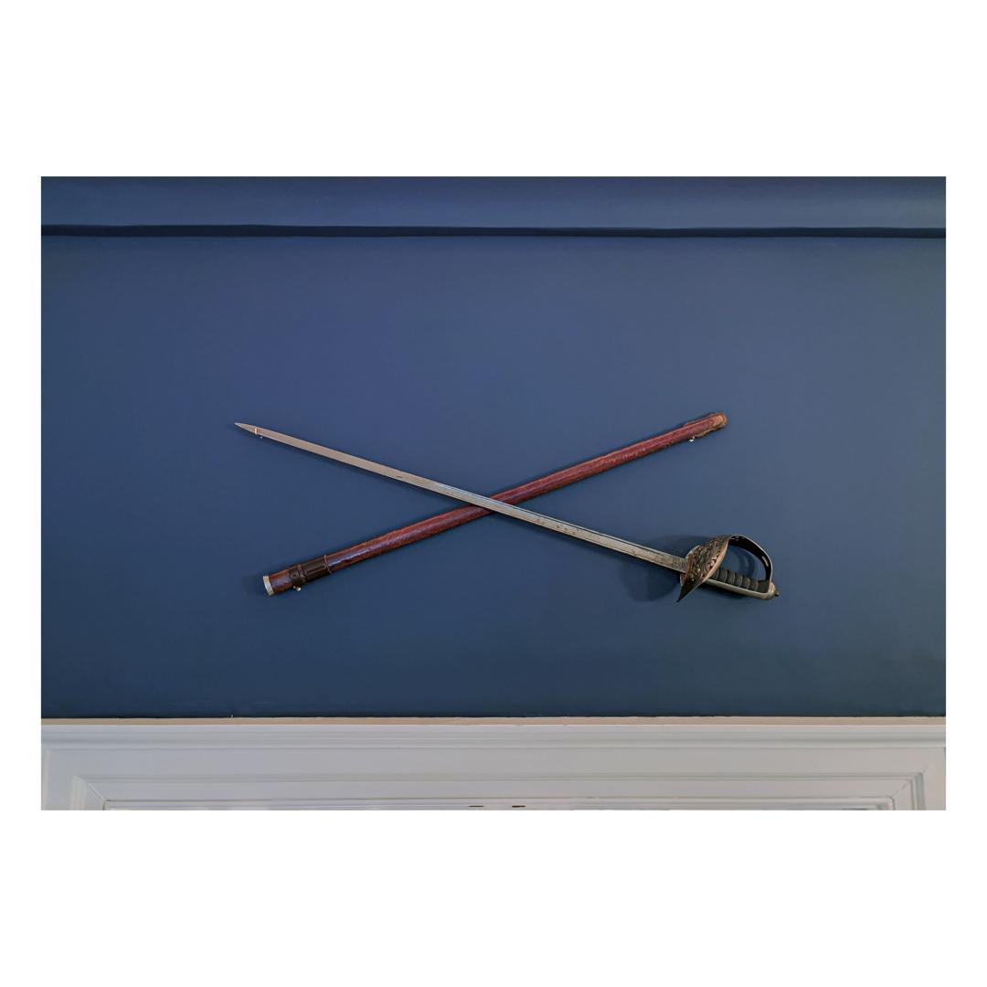 Sword art installation image