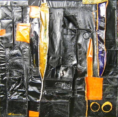 Max500_zero__cotton_thread_handstitched_on_canvas__acrylic_oils__varnish__95_x_95_x_10cm__2007_neil_nieuwoudt