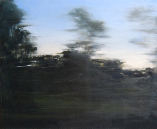 Amanda van Gils: View from a speeding train 5 (Barcelona to Nice) 2008 image