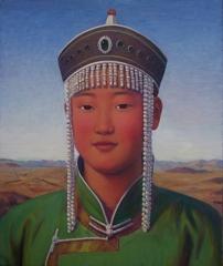"Xue Mo: Naren Tuya (""sunset sunshine"" in Mongolian) 2010 image"