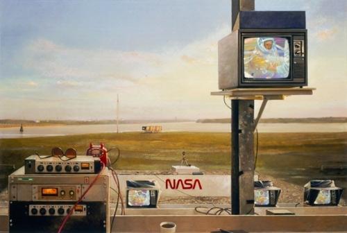 Sunrise Suit-up in NASA | Art image