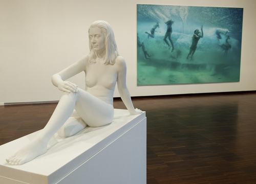 Marc Quinn Exhibit on Display in Venice image